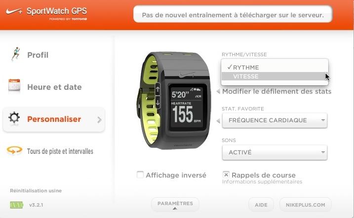 Nike_connect_gps_tomtom_affichage_vitesse