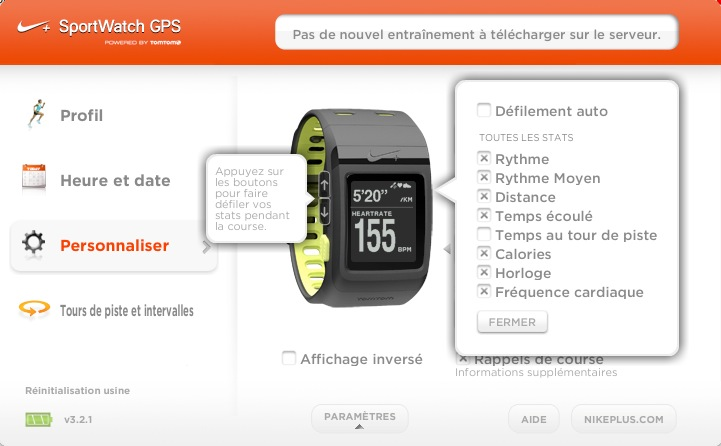 Nike_connect_gps_tomtom_reglages