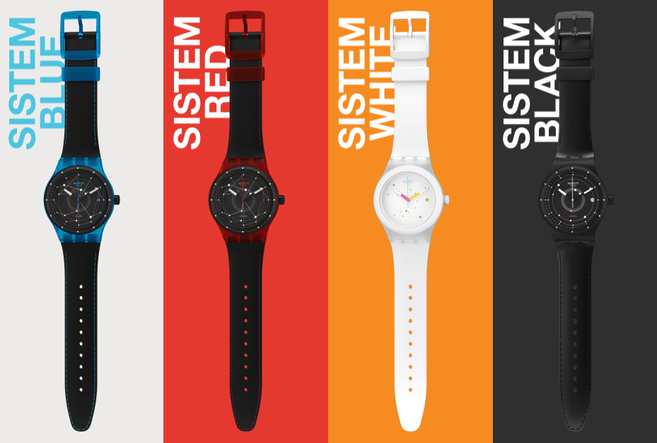 Collection Swatch Sistem 51