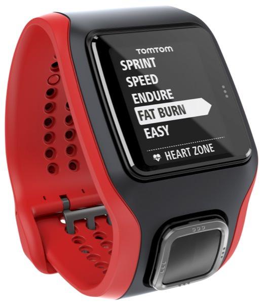 TomTom Runner Cardio Sport Watch Black
