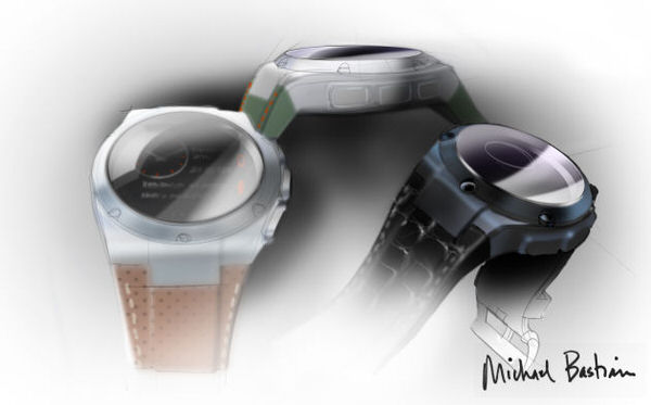 Smartwatch HPxMichael Bastian colours