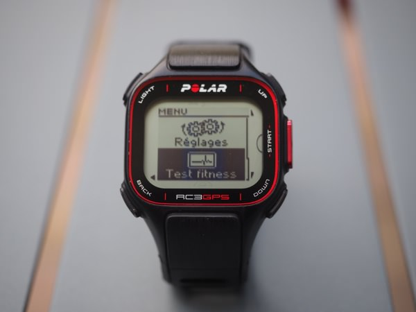 Polar RC3 GPS Fitness Test