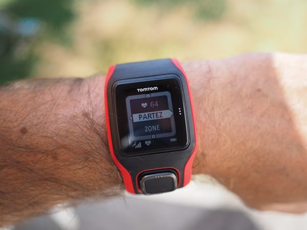 montre de sport GPS TomTom Runner cardio test