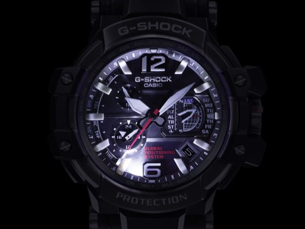 Casio G-Shock GPW-1000 LED