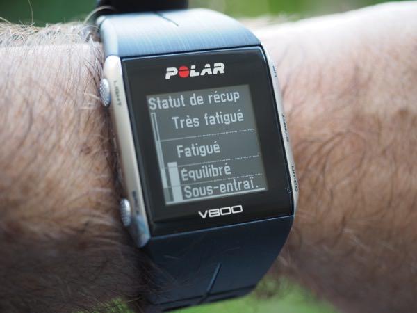 Polar V800 charge entrainement